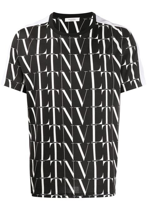 T-shirt nera VALENTINO | T-SHIRT | UV0MG08H6LG0NI