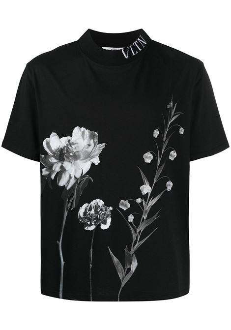 Black t-shirt VALENTINO |  | UV0MG08T6U470X