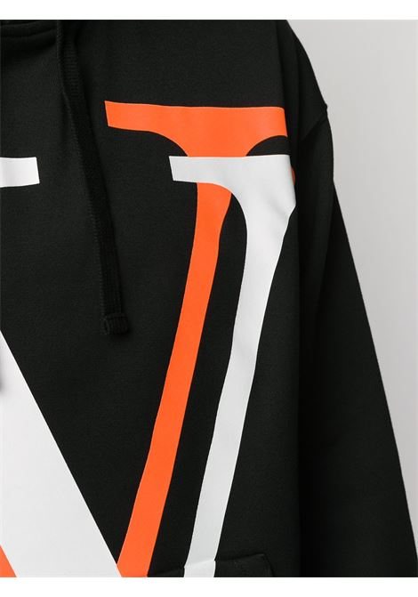 Black sweatshirt VALENTINO |  | UV3MF14J6K5HX9
