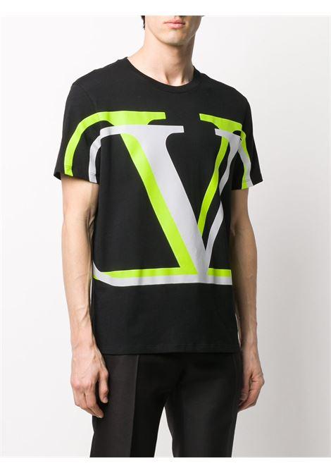 Black t-shirt VALENTINO |  | UV3MG08C6K7PM6