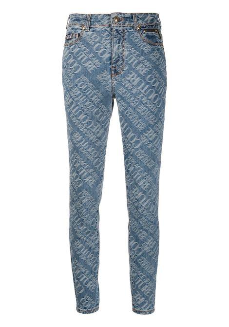 Jeans blu/bianco VERSACE JEANS COUTURE | JEANS | A1HZA0XSAPF6Q904