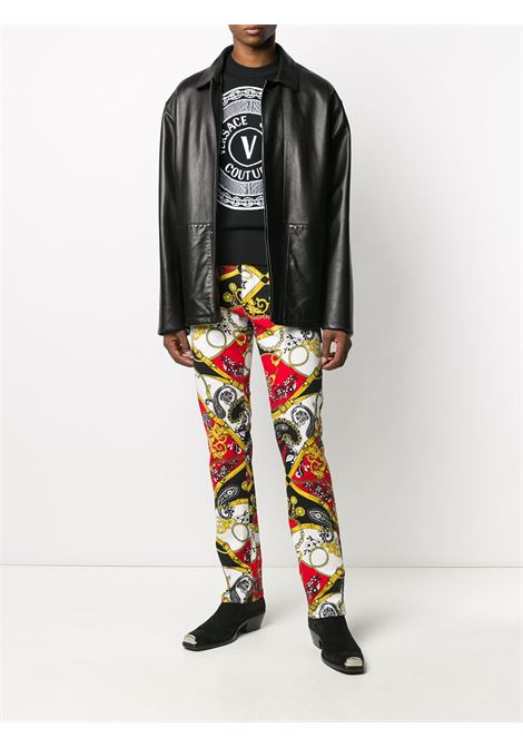 Pantalone fantasia VERSACE JEANS COUTURE | PANTALONI | A2GZA0SMSP800500