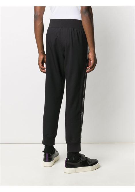 Pantalone nero VERSACE JEANS COUTURE | PANTALONI | A2GZA10815635899