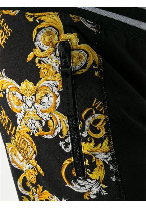 Pantalone nero VERSACE JEANS COUTURE | PANTALONI | A2GZA1F113988899