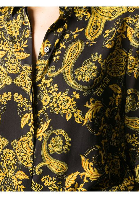 Camicia nera VERSACE JEANS COUTURE | CAMICIE | B0HZA614S0813899