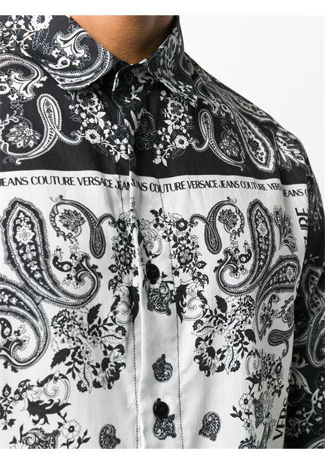 Camicia nera VERSACE JEANS COUTURE | CAMICIE | B1GZA6R2S0859899