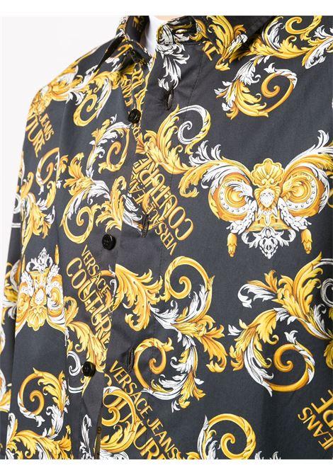 Camicia nera VERSACE JEANS COUTURE | CAMICIE | B1GZA6S0S0832899