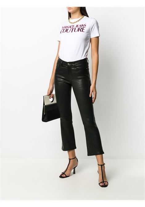 T-shirt bianca VERSACE JEANS COUTURE | T-SHIRT | B2HZA7KF30327003