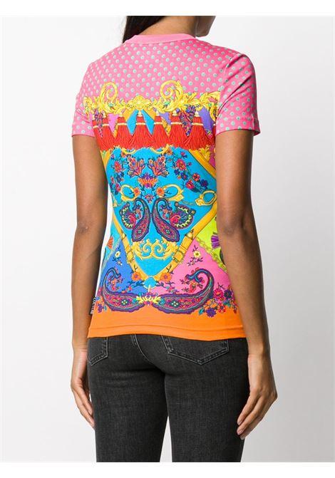 T-shirt multicolore VERSACE JEANS COUTURE | T-SHIRT | B2HZA7PH30392445