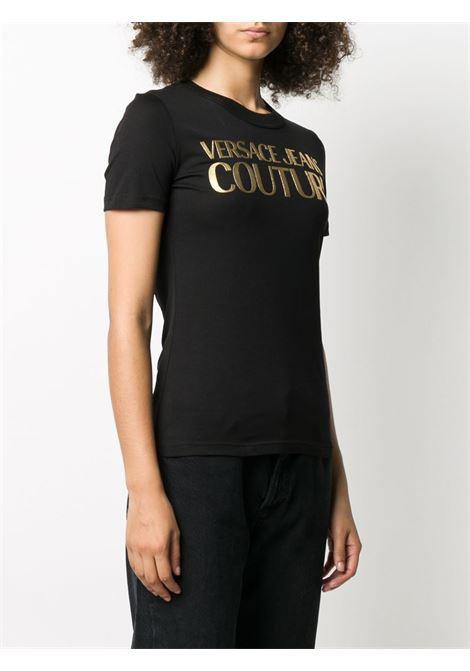 T-shirt nera VERSACE JEANS COUTURE | T-SHIRT | B2HZA7TA30319K42