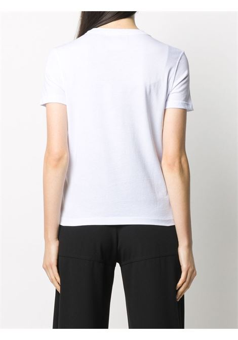 T-shirt bianca VERSACE JEANS COUTURE | T-SHIRT | B2HZA7TG30319003