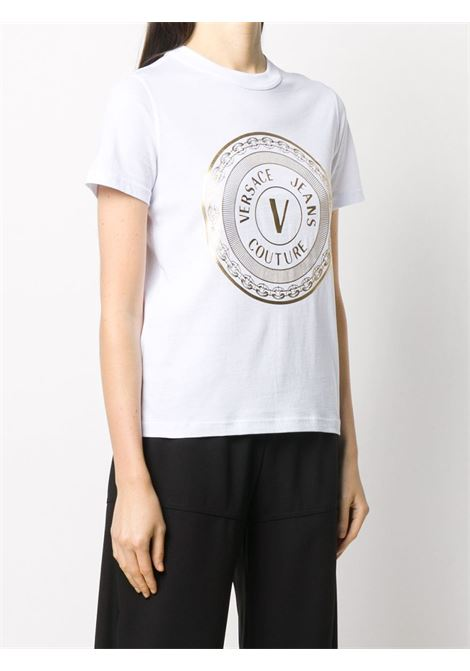 T-shirt bianca VERSACE JEANS COUTURE | T-SHIRT | B2HZA7TK30319K41