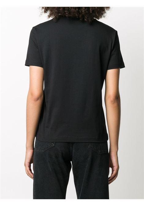 T-shirt nera VERSACE JEANS COUTURE | T-SHIRT | B2HZA7VB30331899