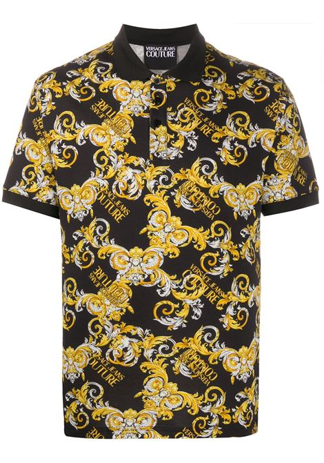 Black polo shirt VERSACE JEANS COUTURE |  | B3GZA721S0834899