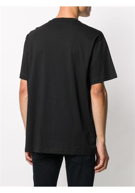 T-shirt nera VERSACE JEANS COUTURE | T-SHIRT | B3GZA7GB30382899