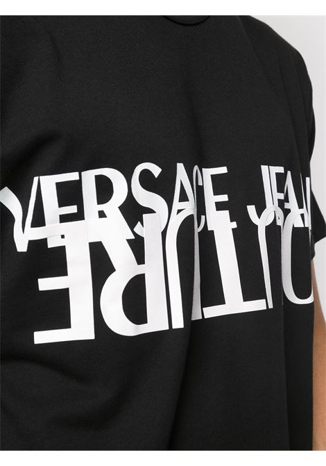 Black t-shirt VERSACE JEANS COUTURE |  | B3GZA7KB30327899