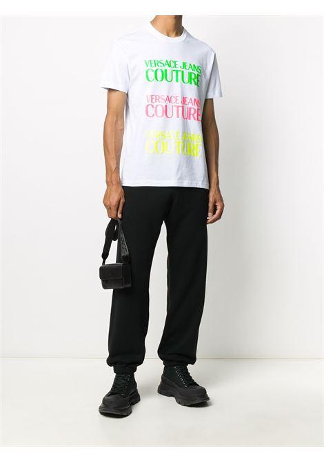 T-shirt bianca VERSACE JEANS COUTURE | T-SHIRT | B3GZA7TC30319003