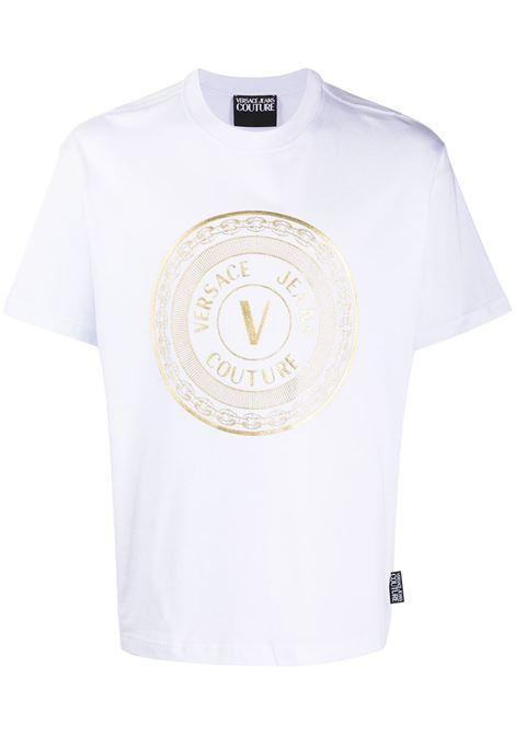 T-shirt bianca VERSACE JEANS COUTURE | T-SHIRT | B3GZA7TK30319K41