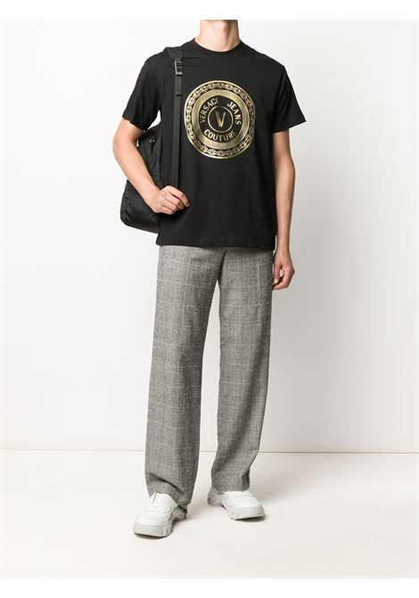 Black t-shirt VERSACE JEANS COUTURE |  | B3GZA7TK30319K42