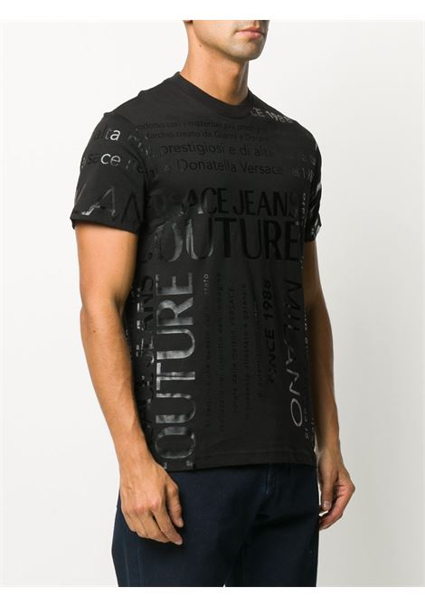 Black t-shirt VERSACE JEANS COUTURE |  | B3GZA7TL30319899