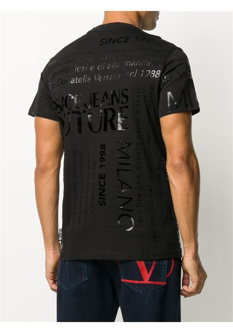 T-shirt nera VERSACE JEANS COUTURE | T-SHIRT | B3GZA7TL30319899