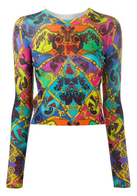 Maglia multicolore VERSACE JEANS COUTURE   MAGLIE   B4HZA81750403445
