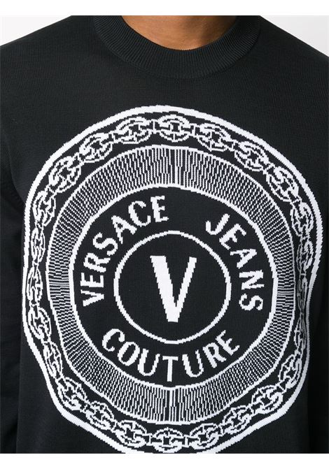 Black sweatshirt VERSACE JEANS COUTURE |  | B5GZA81350463899