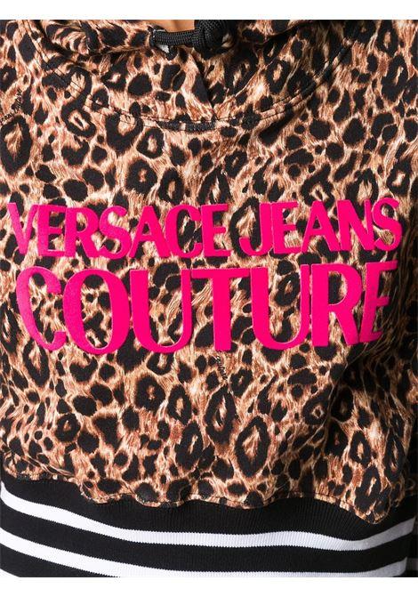 Felpa leopardata VERSACE JEANS COUTURE | FELPE | B6HZA787S0810KI5