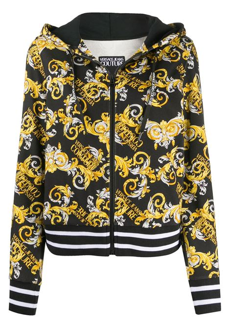 Felpa nera VERSACE JEANS COUTURE | FELPE | B6HZA795S0830899