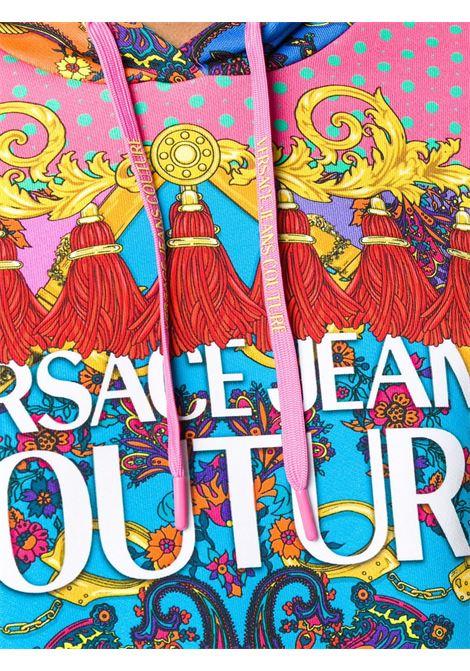 Felpa multicolore VERSACE JEANS COUTURE | FELPE | B6HZA7PM30394445