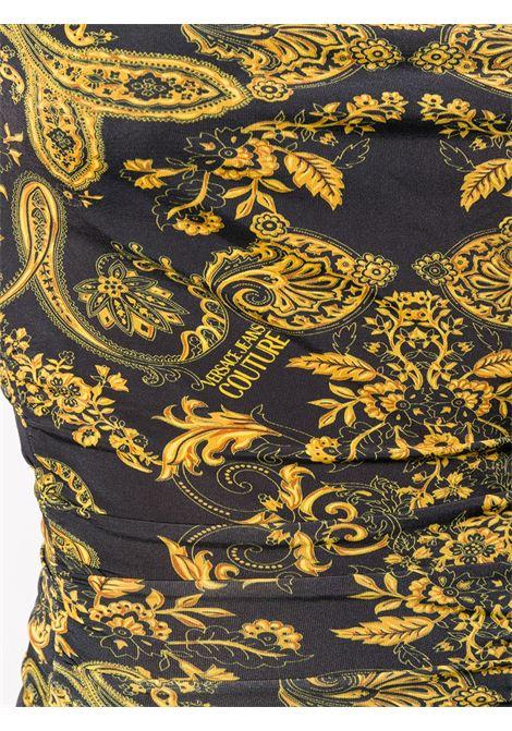 Vestito nero VERSACE JEANS COUTURE | ABITI | D2HZA408S0840899