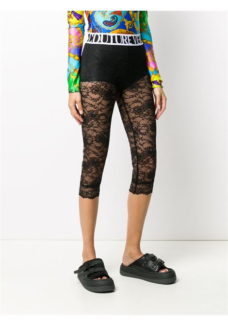 Leggings nero VERSACE JEANS COUTURE | LEGGINGS | D5HZA16204886899