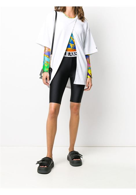 Leggings nero VERSACE JEANS COUTURE | SHORTS | D5HZA16404745899