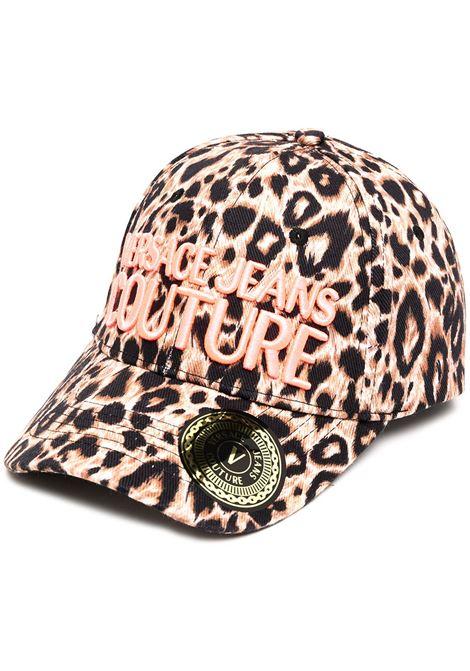 Cappello leopardato VERSACE JEANS COUTURE | CAPPELLI | E8HZAK1385071MHX