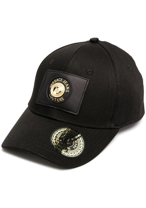 Cappello nero VERSACE JEANS COUTURE | CAPPELLI | E8HZAK1485072899