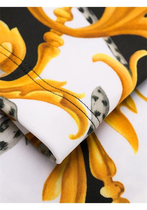 Baroque-print leggings VERSACE |  | A83807A235802A7027