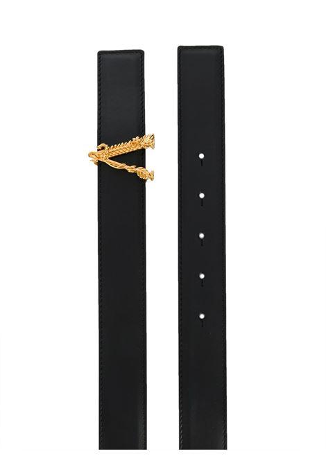Cintura nera VERSACE | CINTURE | DCDH224DV3TK41OT