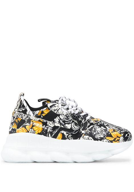 Baroque-pattern print sneakers VERSACE |  | DSU7462D13SGDBN9