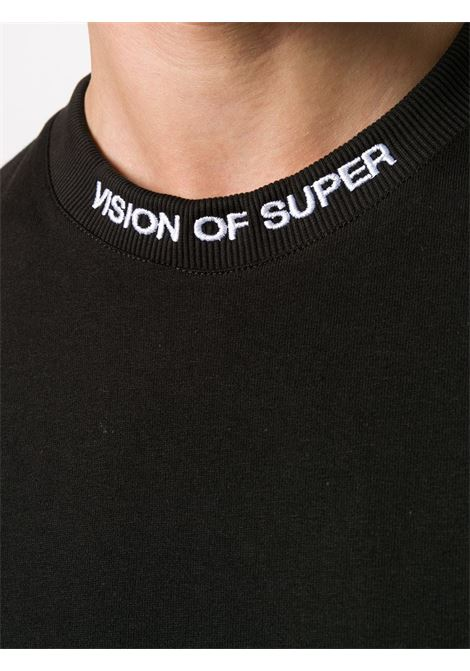 T-shirt nera VISION OF SUPER | T-SHIRT | VOSB1ROCKBLACK