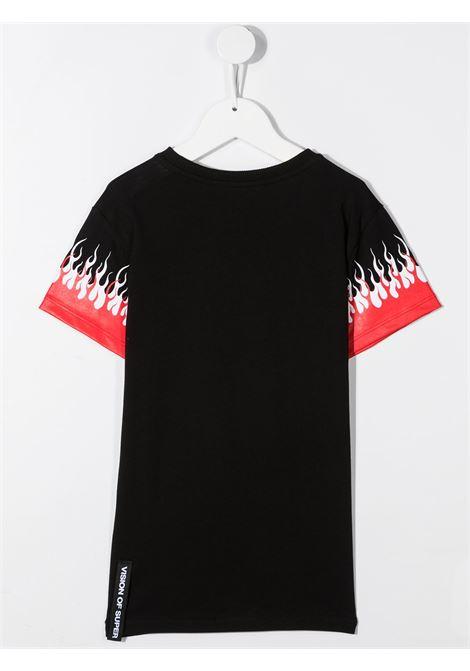 T-shirt nera VISION OF SUPER KIDS | T-SHIRT | VOSKB1DOUBLEBLACK