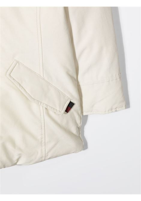 Cappotto bianco WOOLRICH | PARKA | CFWKOU0101FRUT0641WSN