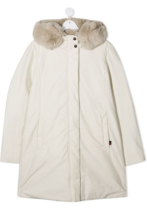 Cappotto bianco WOOLRICH | CAPPOTTI | CFWKOU0105FRTUT0641WSN