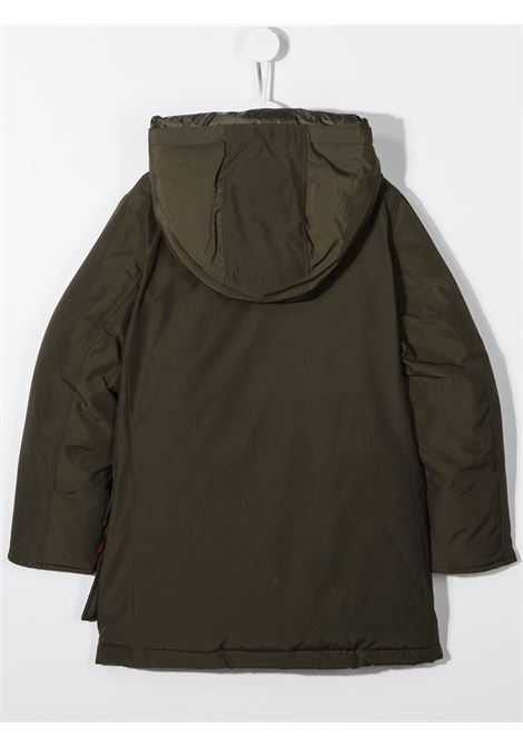 Cappotto verde WOOLRICH | PARKA | CFWKOU0123MRUT0641DAG