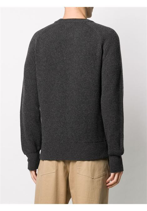 Grey jumper WOOLRICH | SWEATER | WOKN0082MRUF0474123