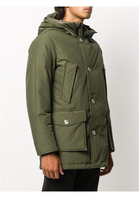 Cappotto verde WOOLRICH | PARKA | WOOU0271MRUT0108DAG