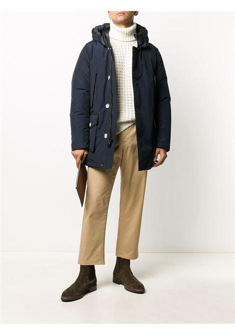 Blue coat WOOLRICH |  | WOOU0271MRUT0108MLB
