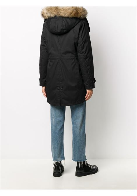 Cappotto nero WOOLRICH | PARKA | WWOU0291FRUT1974100