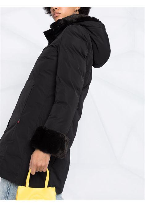 Cappotto nero WOOLRICH | CAPPOTTI | WWOU0320FRUT0573100