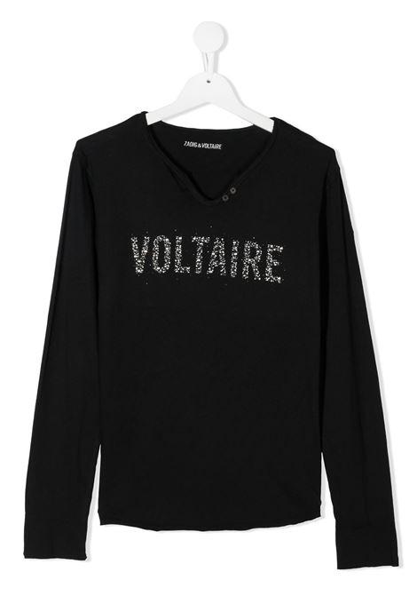 Black t-shirt ZADIG & VOLTAIRE | JERSEYS | X15241T09B