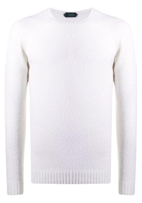 Maglione bianco ZANONE | MAGLIONE | 811902ZM243Z3372